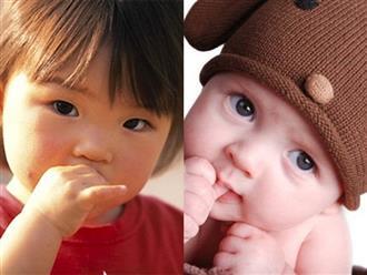 Lý giải thói quen mút tay ở trẻ em và lời cảnh báo của bác sĩ