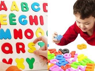 Mách mẹ bí kíp dạy con học thuộc lòng bảng chữ cái tại nhà