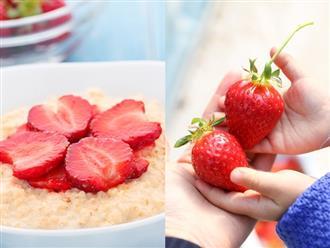 Các món ăn dặm từ quả dâu tây giàu dinh dưỡng cho bé ăn mãi không chán