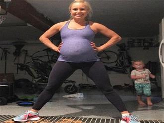 """Mẹ bầu 8 tháng vẫn chạy thi 10km và bí quyết để có thai kỳ """"nhẹ nhàng như không"""""""