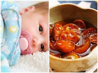 Món ăn trị ho khan, ho có đờm cho bé dễ làm nhất