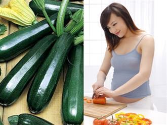 Một số món ăn từ quả bí ngòi cho bà bầu nhiều dưỡng chất trong thai kỳ