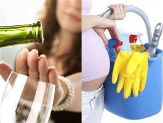 Muốn sinh con không bị dị tật, đây là 5 việc mẹ không được làm!
