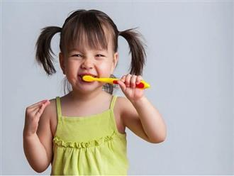 Nếu vẫn tự tin con đánh răng đủ 3 lần mỗi ngày sẽ không bị sâu răng thì cha mẹ hãy xem lại