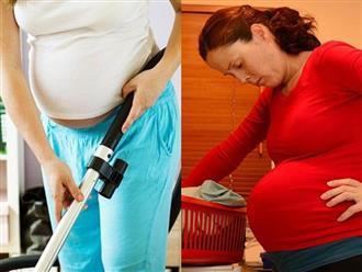 Những công việc nhà mẹ nên nhờ bố làm để tránh gây tổn thương thai nhi