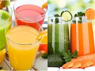 Những loại đồ uống mẹ bầu phải có trong tủ lạnh để tránh mất nước