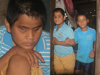 Rơi nước mắt trước cảnh ngộ của hai cậu bé Mơ Nông: Mẹ mất, cha bỏ đi, anh trai mù lòa đi hát thuê nuôi em ăn học
