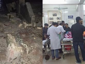 Sập trường tiểu học, 16 học sinh bị thương: Điều tra việc gia cố, nẹp lan can bằng sắt tạm bợ