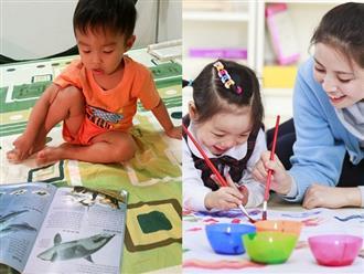 'Sự kỳ diệu khi chúng tôi dạy con hình ảnh, thay vì chữ'