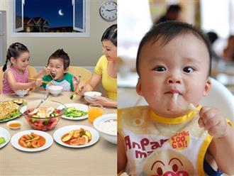 Tạo môi trường khoa học giúp trẻ có hành vi tốt trong việc ăn uống theo lời khuyên của chuyên gia