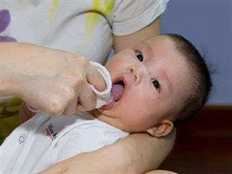 Trẻ bị tưa miệng, dùng thuốc gì?