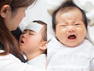 Trẻ em bị sốt: Bao nhiêu độ là nguy hiểm?