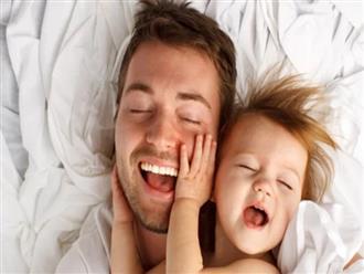 Trẻ em càng giống bố lớn lên càng khỏe mạnh