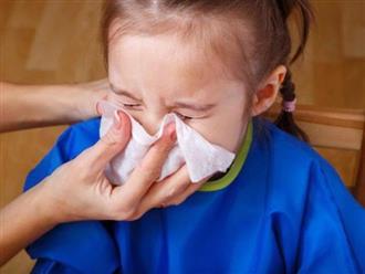 Trị sổ mũi cho trẻ tại nhà giúp bé đỡ bệnh ngay
