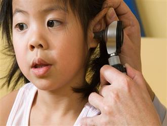 Viêm tai giữa ở trẻ em: Triệu chứng và cách điều trị