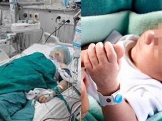Vợ đưa con trai mới sinh đến thăm chồng hôn mê do tai nạn và điều kỳ diệu đã xảy ra