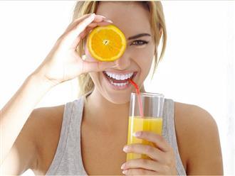 Buổi trưa uống cốc nước này sau đúng 1 tuần mọi mỡ thừa tiêu biến, lại tốt hơn ngàn năm dùng thuốc bổ