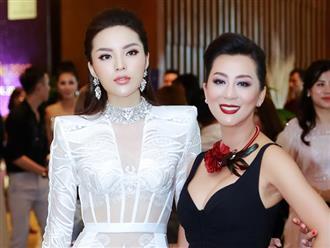 Hoa hậu Kỳ Duyên lần đầu hội ngộ thân thiết với MC Kỳ Duyên