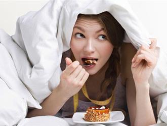Muốn ngủ ngon, hãy tránh ăn những thực phẩm này trước khi ngủ