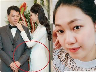 Choáng với nhan sắc của Á hậu Thanh Tú sau hai tháng rưỡi lên xe hoa với chồng hơn 16 tuổi