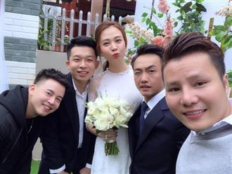 Hot: Rò rỉ hình ảnh đám hỏi Cường Đô la và Đàm Thu Trang ở Lạng Sơn