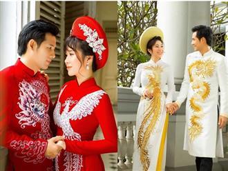 'Rụng tim' với loạt ảnh cưới đẹp như mơ của Hương và Tường trong 'Gạo nếp gạo tẻ'