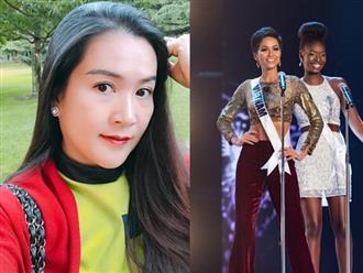 Bà xã Bình Minh cảm phục H'Hen Niê: Lần đầu tiên thấy thí sinh mặc quần đi catwalk mà vào Top 5