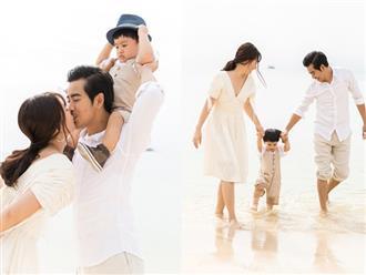 Bộ ảnh lung linh của gia đình Ngọc Lan - Thanh Bình ở Phú Quốc đốn tim cư dân mạng