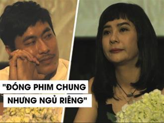 Cát Phượng khóc, nói về lý do Kiều Minh Tuấn không chịu ngủ chung giường