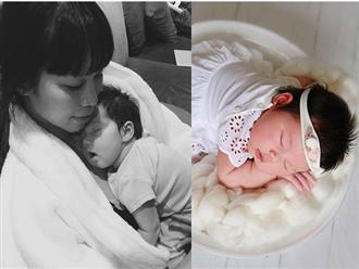 Hà Anh ngỡ ngàng vì ông xã phát hiện ra 'bí mật' của con gái mới sinh