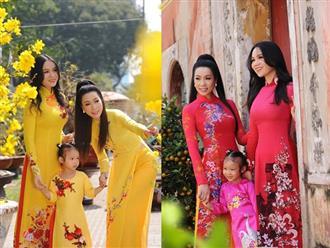 Ngỡ ngàng với nhan sắc thiếu nữ của con gái Á hậu Trịnh Kim Chi