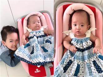 Sinh non nặng 2,2kg, con gái út Khánh Thi - Phan Hiển giờ đã bụ bẫm đáng yêu như thiên thần
