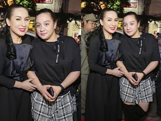 Con gái Phi Nhung lần đầu xuất hiện trước truyền thông, gây bất ngờ về nhan sắc