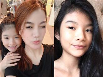 Ngỡ ngàng con gái Trương Ngọc Ánh - Trần Bảo Sơn đã vụt lớn thành thiếu nữ, mặt giống bố như đúc khuôn