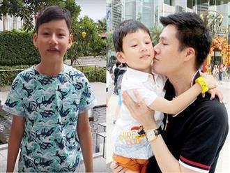 Xúc động với món quà sinh nhật đặc biệt của con trai Quang Dũng gửi tặng bố