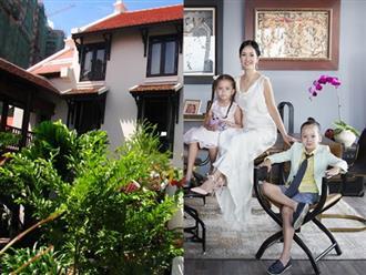 Hồng Nhung mang hai con rời khỏi biệt phủ triệu đô, đang sống ở nơi này sau ly hôn chồng Tây