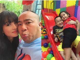 Cuộc sống bình yên của Hiếu Hiền bên vợ hotgirl và ba con giống bố như tạc tượng