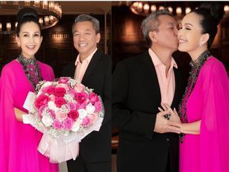 Ngưỡng mộ cuộc sống xa hoa và hôn nhân viên mãn của 'Nữ hoàng ảnh lịch' Diễm My ở tuổi U60