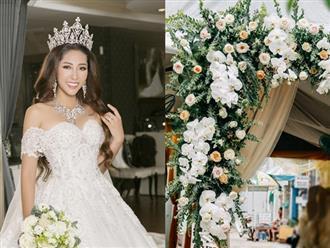 Lộ ảnh không gian hôn lễ sang trọng của Hoa hậu Đặng Thu Thảo và đại gia miền Tây