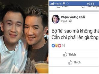 Đàm Vĩnh Hưng dọa đánh kẻ mỉa mai Dương Triệu Vũ đồng tính: 'Cả showbiz chờ mà xem clip'
