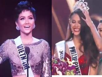 H'Hen Niê trượt Top 3, Philippines đăng quang Hoa hậu Hoàn vũ Thế giới 2018