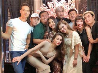 Chụp ảnh cùng Kim Lý nhưng vị trí đặt tay của Hồ Ngọc Hà mới đáng để tâm