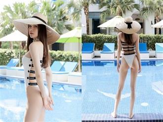 Lộ bức ảnh Hồ Ngọc Hà mặc quần bikini nhỏ xíu, phô diễn vòng 3 lép kẹp khiến ai cũng sốc