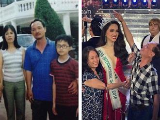 Hành động đầu tiên của Hoa hậu Hương Giang sau đêm đăng quang khiến nhiều người rớt nước mắt