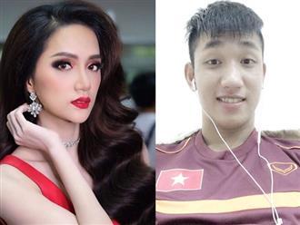 Hoa hậu Hương Giang và mối tình đơn phương nhiều cay đắng với hot boy U23 Việt Nam