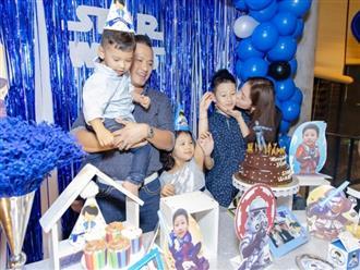 Chồng Jennifer Phạm tổ chức sinh nhật hoành tráng cho con trai riêng của vợ