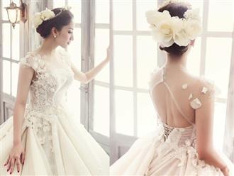 Khánh Thi gây sốt với loạt ảnh hóa cô dâu đẹp như một nàng thơ