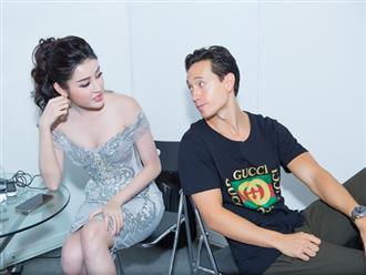 Từ chối cởi áo với siêu mẫu nhưng Kim Lý lại lộ khoảnh khắc tình tứ với Á hậu Huyền My ở nơi kín đáo