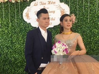 """Lâm Khánh Chi thay bộ váy cưới đầu tiên trong bộ sưu tập tiền tỷ: Đơn giản thế thôi nhưng giá quá """"chát"""""""