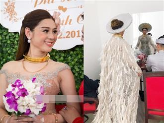 Những chi tiết siêu độc và lạ chỉ xuất hiện trong đám cưới 'công chúa' Lâm Khánh Chi